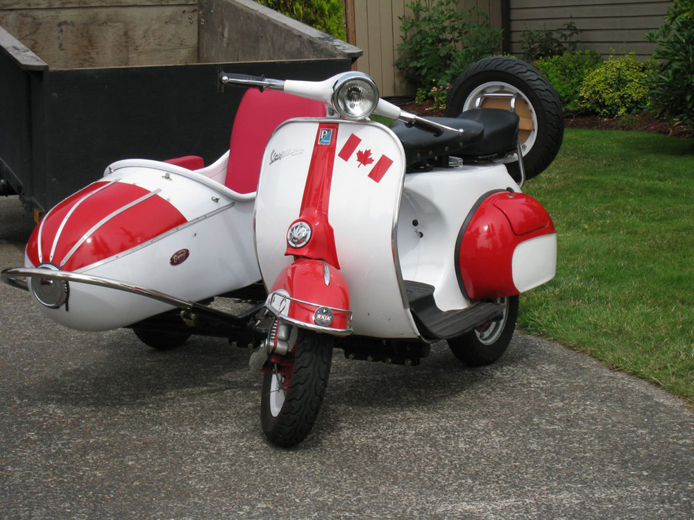 scooter99.com | Piaggio Vespa Scooter Sidecar Parts and Accessories